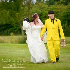 Not every groom gets chance to wear his favourite football clubs colours on his wedding day. Fabulously themed #westbromwichalbion wedding. #wedding #bride #groom #fieldphotographicportraits #merv_spencer #horsleylodgeweddingphotography | From Field Photographic Portrait Studio | http://ift.tt/20TBije