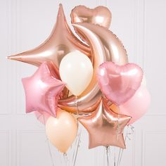 Rose Gold Balloons | Stylish Party Supplies | Bubblegum Balloons