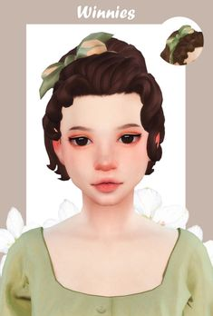 Winnie&Winnies HairTwo hairs, including a headband. Sims 4 Cc Packs, Sims 4 Mm Cc, Sims 4 Teen, My Sims, Sims 4 Mods, Maxis, Casas The Sims 4, Sims 4 Characters, Download Hair