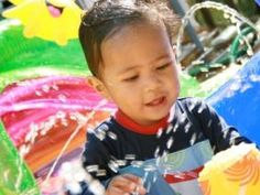 The Wonder of Water Play ~ What children learn from it and ideas for water play year round.