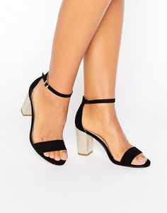 Get this Miss Kg's heeled shoe now! Click for more details. Worldwide shipping. Miss KG Pearl Mid Heel Sandal - Black: Shoes by Miss KG, Faux-suede upper, Ankle-strap fastening, Peep toe, Block mid heel, Wipe clean with a damp cloth, 100% Textile Upper, Heel height: 8cm/3. Part of the Kurt Geiger family of luxury footwear, Miss KG shoes look to unique touches and individual twists. With inspiration taken from the front rows at fashion week and flea market rummages, Miss KG adds bold…