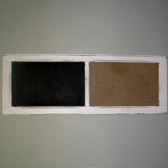 Chalkboard / Cork Board / Message Board / by repurposedantiques