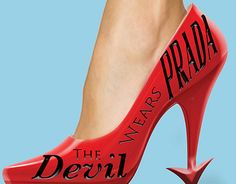 """Poster for The Devil Wears Prada"" by Victoria Campo on Behance."