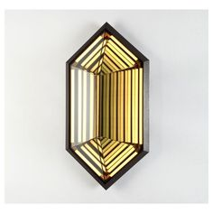 Reproduction of Stella Hexagon Wall Sconce | GFURN