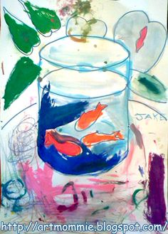 ArtMommie: Paint like Matisse! Mommy and Me