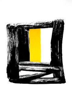 Sem Título 1990 | Amilcar de Castro litografia, c.i.d., 7/20 91.00 x 63.00 cm