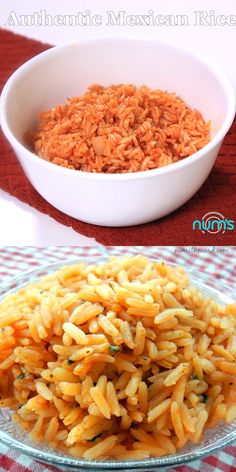 Mexican food recipes 509610514083728428 - Authentic Mexican Rice – We've tried a LOT of Mexican/Spanish rice's and this is our favorite. It's easy and delicious. Perfect side to any meal! Authentic Mexican Recipes, Mexican Rice Recipes, Rice Recipes For Dinner, Easy Rice Recipes, Bean Recipes, Mexican Dishes, Healthy Recipes, Mexican Fried Rice, Yellow Mexican Rice
