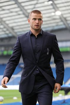 Eric Dier of Tottenham Hotspur walks to the changing room after speaing with fans before the Premier League match between Brighton Hove Albion and. Brighton & Hove Albion, Brighton And Hove, Paris Saint Germain Fc, Tottenham Hotspur Football, Spanish Men, London Pride, White Hart Lane, English Men, Fc Bayern Munich