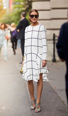Olivia Palermo at Paris Fashion Week Spring/ Summer 2015 in Chloé | Stockholm Street Style