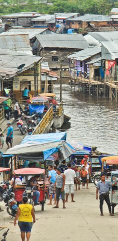 Travel in South America: Belen Markets, Iquitos, Peru http://www.miviajedepromocion.com/