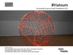 Vous n'avez plus que deux jours pour trouver votre chemin vers les cartes lumineuses de Mona #Hatoum.