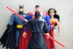 superman batman and wonder woman | 200709 - Darth Maul Vs. Batman, Superman, Wonder Woman - (by AE ...