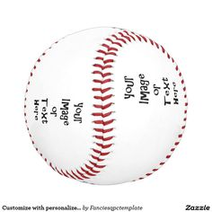 Customize with personalized pictures and text baseball Your Image, Baseball, Pictures, Gifts, Photos, Presents, Favors, Grimm