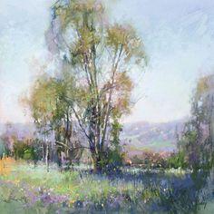 Fields Edge by Richard McKinley Pastel ~ 12 x 12