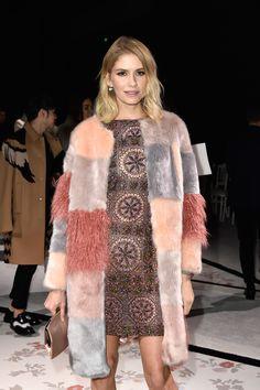 Elena Perminova - Front Row At Giambattista Valli Spring 2015 Haute Couture