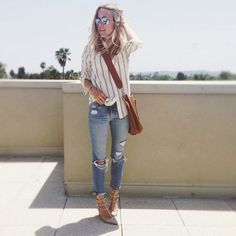 50 Inspiring Street Style Outfits To Try For Summer via @Who What Wear