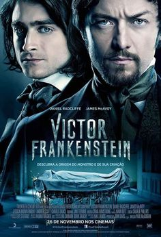 "Cantinho da Leitura: Confira trailer de "" Victor Frankenstein """