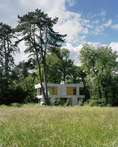 A habitable structure from Lacroix Chessex Architects