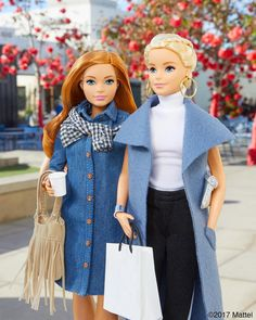 Holiday errands are better with friends! So much to do, so little time. #barbie #barbiestyle