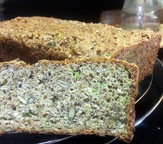 KETO-RECEPTY: Výborný semínkový chléb s psylliem Banana Bread, Low Carb, Desserts, Recipes, Fitness, Diet, Tailgate Desserts, Deserts, Recipies