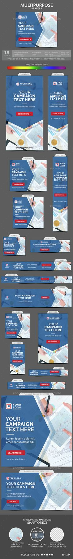 Multipurpose Web Banners Template PSD. Download here: http://graphicriver.net/item/multipurpose-banners/15122085?ref=ksioks