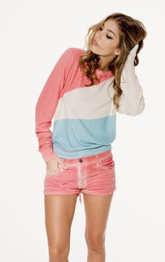 5ee107e6a3b The Wildfox Tour of France Baggy Beach Jumper Wildfox Couture