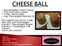 CHEESE BALL Flaschengeist Mexicano Oil Flaschengeist Original Dukkah Flaschengeist Chilli Dukkah Dukkah Recipe, Oil Mix, Yummy Food, Tasty, Cheese Ball, Savoury Dishes, Gourmet Recipes, Nom Nom, Food Ideas