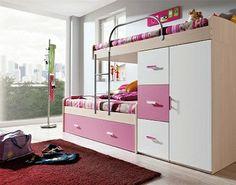 Decoración de interiores: Decoracion: Camas versátiles para dormitorios de n...