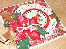 Vianoce - Vianočná kolekcia - Vianočná ruža (č.10) - 4506999_