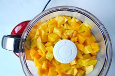 Just a Taste | Healthy Homemade Mango Fruit Roll-Ups | http://www.justataste.com