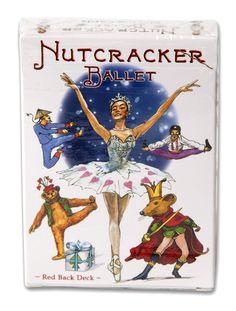 Nutcracker Ballet Playing Cards, NEW, Ballet Dancer, Clara, Sugar Plum Fairy