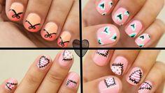 2014 Valentine's Day Nail Art: 3 EASY Designs!!! (+playlist)