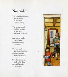 Read Me A Story: Months of the Year November Poem, November Rain, February, Nursery Rhymes Poems, Pomes, Kids Poems, Rhymes For Kids, Months In A Year, Poetry Quotes