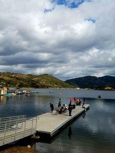 Big bear lake rainbow trout kayak fishing california for Best fishing in southern california