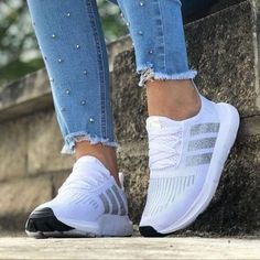 The Coolest Adidas Running Shoes – Adidas shoes women Cute Sneakers, Cute Shoes, Adidas Sneakers, Shoes Sneakers, Shoes Addidas, Pants Adidas, Jeans Pants, Women's Shoes, Adidas Shoes Women