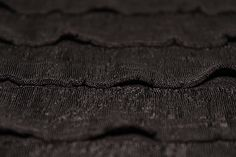 Lettuce Hem Ra Ra Jersey  Fabric | Gasby Style 1920's Flapper Dress 1920s Flapper, Fabric Material, Lettuce, Textiles, Projects, Black, Dresses, Style, Fashion