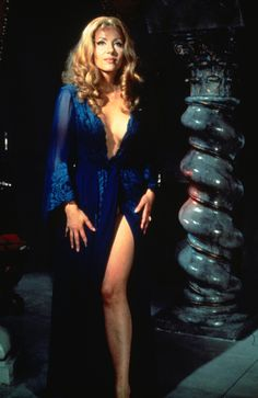 """Had the great fortune to see the fantastic performance of horror legend Ingrid Pitt in Hammer's """"Countess Dracula"""" (1971) a couple of weeks ago on the CometTV channel. Her perform…"""