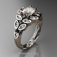 Art Masters Nature Inspired 14K Rose Gold 1.0 Ct by DesignMasters, $1299.00