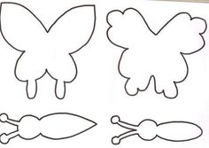 moldes em eva de borboletas 3