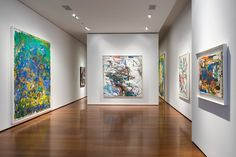 Reviewing Joan Mitchell's Colorful Peaks and Vallées | 1stdibs Introspective