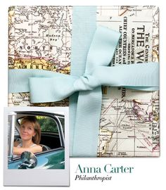 Gift wrapping with vintage maps