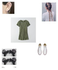 """Untitled #96"" by abby-nelson1015 on Polyvore featuring American Eagle Outfitters, Converse and Otis Jaxon"