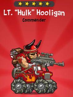 """Lt. """"Hulk"""" Hooligan- http://puzzletrooper.com/"""