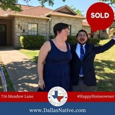 """""""Thank you so much for helping us find our first home! You were diligent in searching and finding a great house quickly, making the search fast for us! We are grateful for  your expertise and assistance!"""" -Justin and Melissa #firsttimehomebuyer #happyhomeowner #kwdallas #dallasrealestate"""