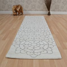 Matrix crochet hallway runners cream buy online from the rug seller uk Hallway Runner, Hand Carved, Carving, Cream, Rugs, Crochet, Runners, Stuff To Buy, Inspiration