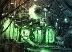 Main/Mad Scientist Laboratory - Television Tropes & Idioms