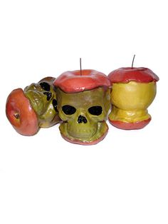 Skull Apples Prop