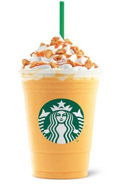 Orange Honeycomb Crunch Frappuccino What it is: A cream Frappuccino blended with orange sauce, topped with crunchy orange honeycomb candy and a citrus drizzle. Essentially, a Creamsicle in a cup. Where to find it: Indonesia, Singapore Starbucks Specials, Copo Starbucks, Best Starbucks Coffee, Bebidas Do Starbucks, Healthy Starbucks Drinks, Secret Starbucks Drinks, Starbucks Secret Menu Drinks, Starbucks Frappuccino, Starbucks Recipes