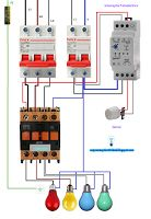 Esquemas eléctricos: Esquema interruptor fotoeléctrico