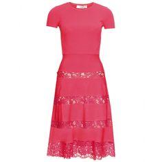 CHANTILLY LACE TRIMMED DRESS  seen @ www.mytheresa.com